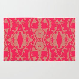 Butterflies in delusion  Rug