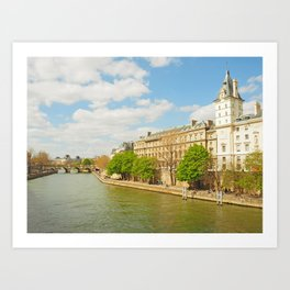 The River Seine Art Print