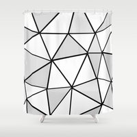 origami Shower Curtains featuring origami by themicromentalist