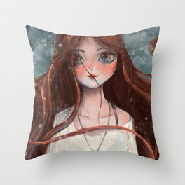 Skadi Throw Pillow