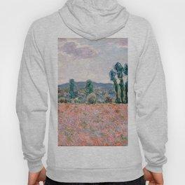 Poppy Field in Giverny by Claude Monet Hoody