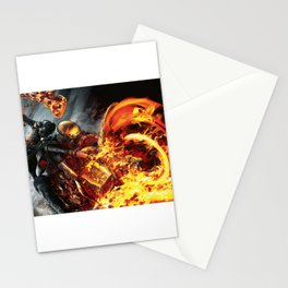 Fire on the road Stationery Cards