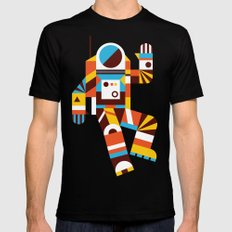 Hello Spaceman 2.0 Mens Fitted Tee Black LARGE