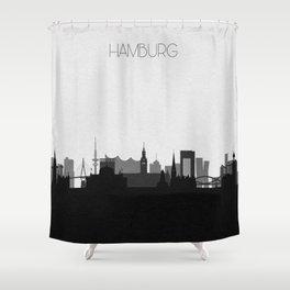 City Skylines: Hamburg Shower Curtain