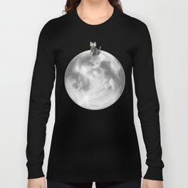 Lost in a Space / Moonelsh Long Sleeve T-shirt