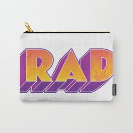 RAD block letters Carry-All Pouch
