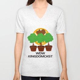 WDW Kingdomcast Planters Unisex V-Neck