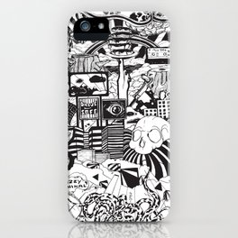 Doughnut City iPhone Case