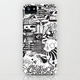 Doughnut City iPhone Case