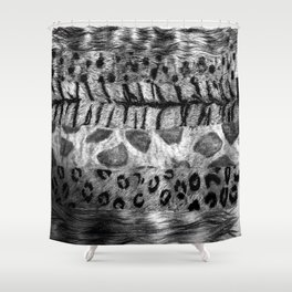 Furs Shower Curtain