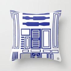 R2-D2 Body Throw Pillow