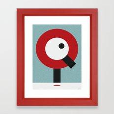 I.Q. Framed Art Print
