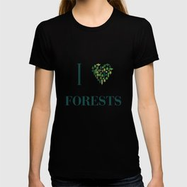 I heart Forests T-shirt