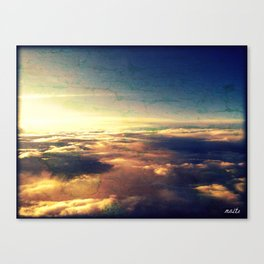 What heaven looks like Canvas Print
