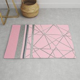 Silverdo: Blush Pink Rug