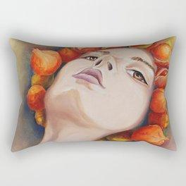 Herbst Mädchen 2 Rectangular Pillow