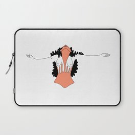 What you feel when you are free Laptop Sleeve