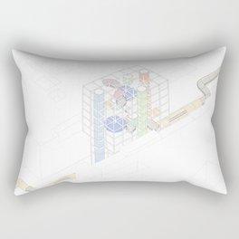 Pipes Rectangular Pillow