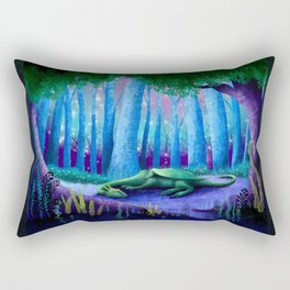 The Sleeping Dragon Rectangular Pillow