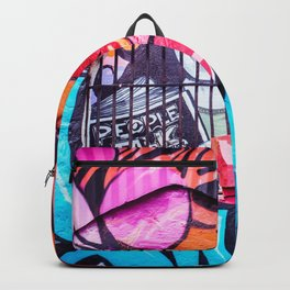People Talk Graffiti Art in Houston Backpack