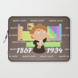 Madame Curie Laptop Sleeve
