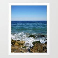 Black Sea Art Print