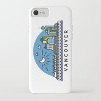 vancouver iPhone & iPod Cases featuring Vancouver by Campbell Graphix