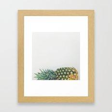 Fallen Pineapple Framed Art Print