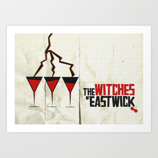 The Witches of Eastwick  Art Print