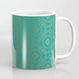 Pattern_Gold Coffee Mug