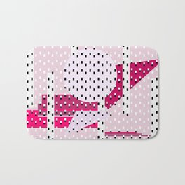 Hello City - Pink Dreams Bath Mat