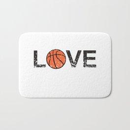 Basketball Love Triko Ball Gift Bath Mat