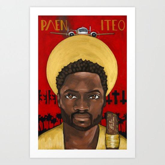 Saints of LOST | Eko Art Print