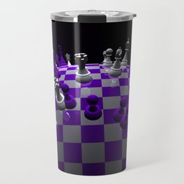 chess fantasy violet Travel Mug