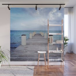 The Open Sea Wall Mural