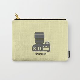 Size matters Carry-All Pouch