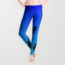 Under the Sea(horse)-Dark to Light Leggings