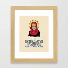 Angels Among Us Framed Art Print
