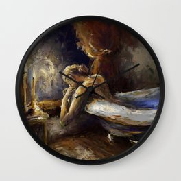 The Burnout. Wall Clock