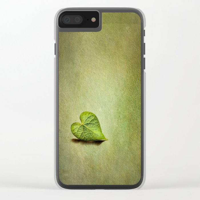 Lonely Heart Clear iPhone Case
