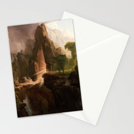 Thomas Cole - Expulsion from the Garden of Eden, 1828 Stationery Cards