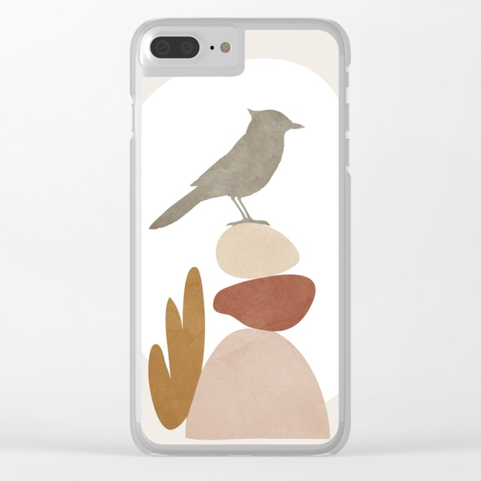 Cute Little Bird III Clear iPhone Case