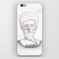 Bearded lady (Femme à barbe) iPhone & iPod Skin