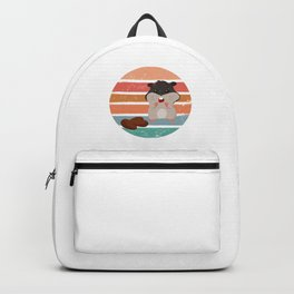 Retro Hamster Backpack