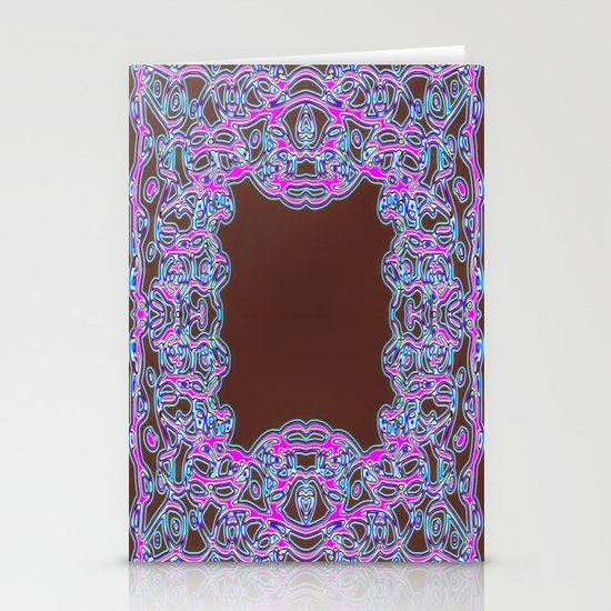 In The Pink Colorfoil Bandanna Stationery Cards