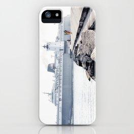 Badger Car Ferry - Ludington Michigan iPhone Case