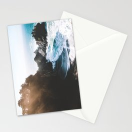 ocean falaise Stationery Cards
