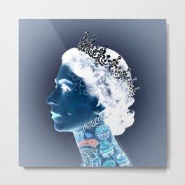 Tattoo Queen Metal Print