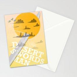 Desert Swordsman Stationery Cards