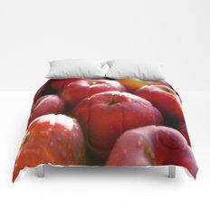Sweet red Apple Comforters